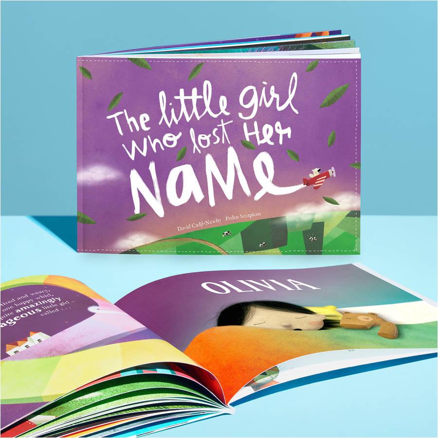 personalised children s story book baby child