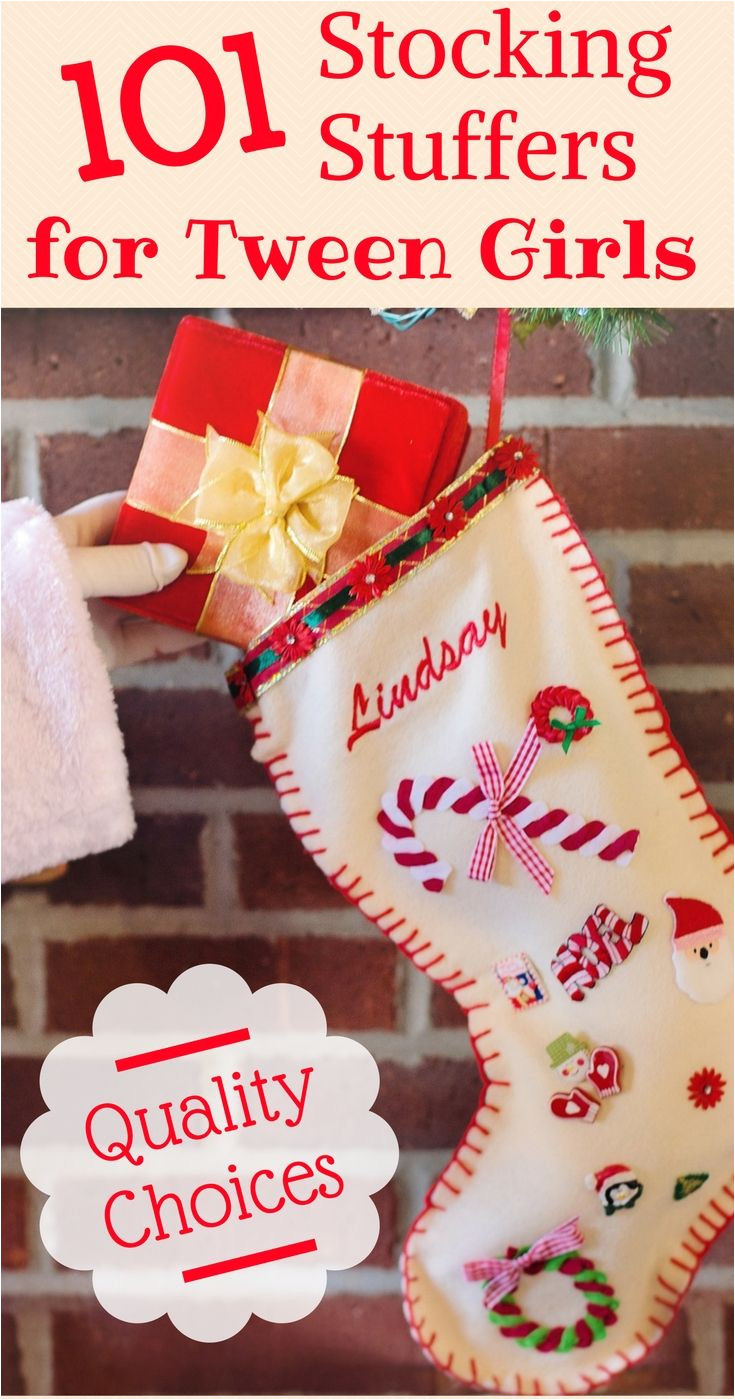 101 stocking stuffer ideas for tweens girls that aren t junk