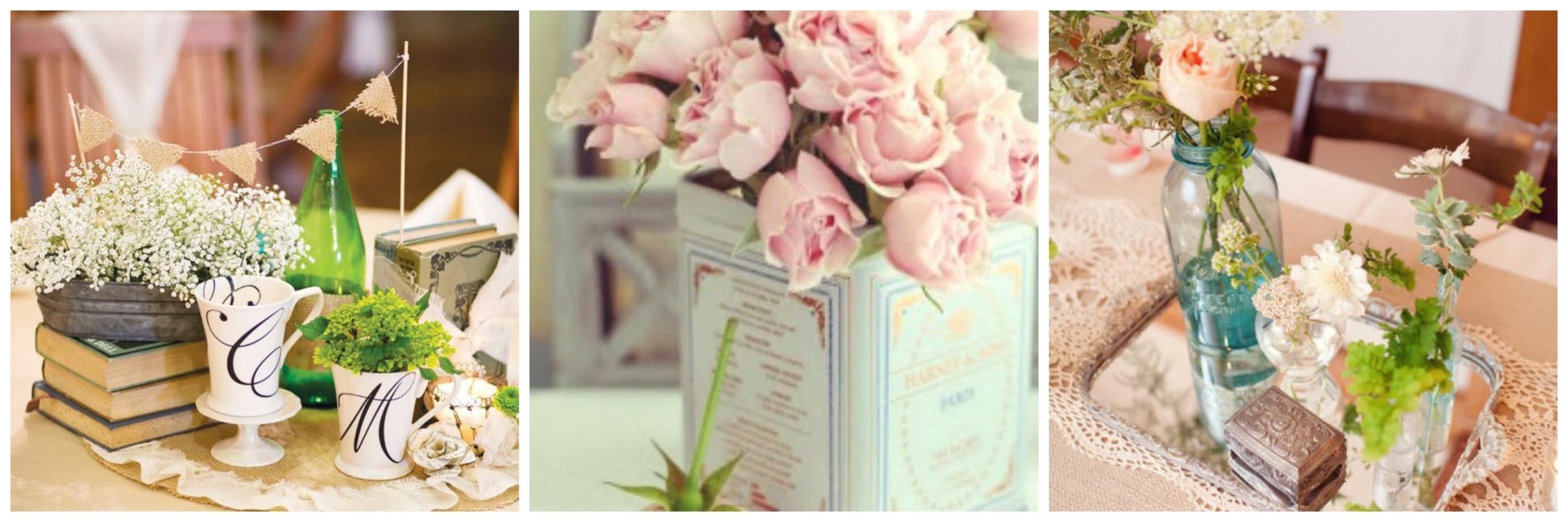 ideas de centros de mesa affordable ideas para bodas sencillas y