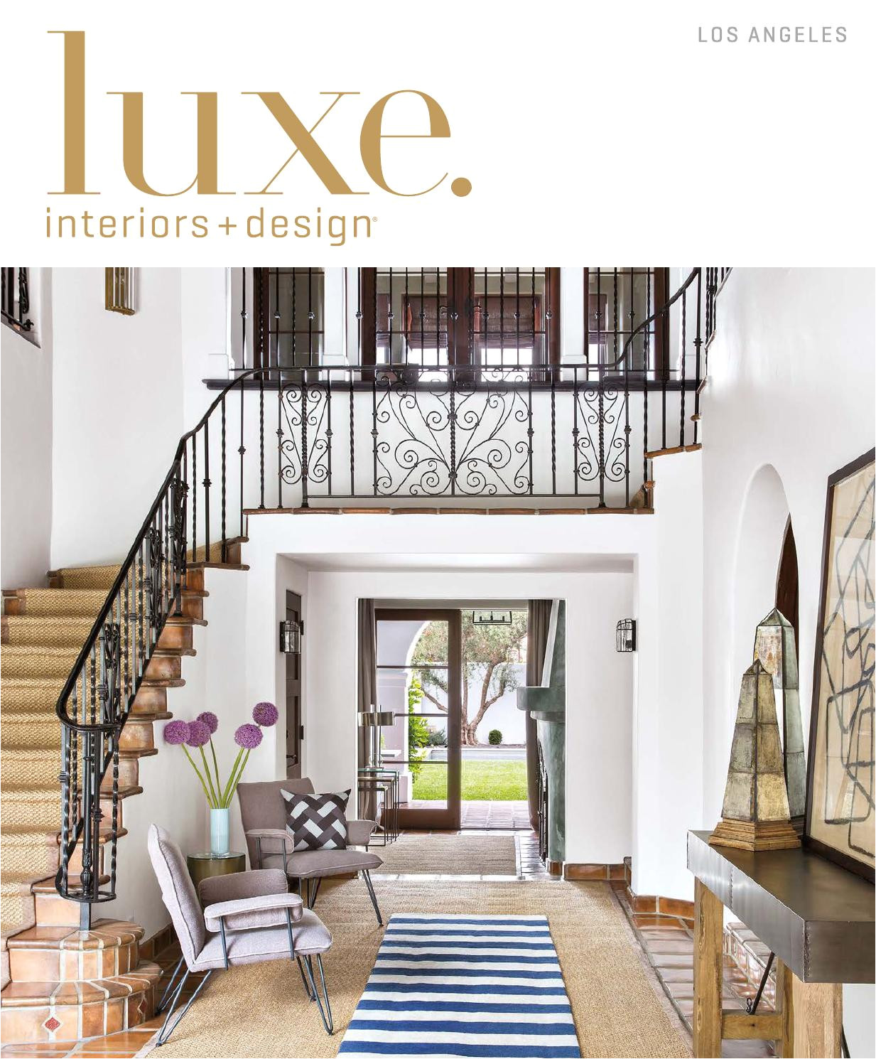 Bodegas De Muebles En Los Angeles California Luxe Magazine September 2015 Los Angeles by Sandowa issuu