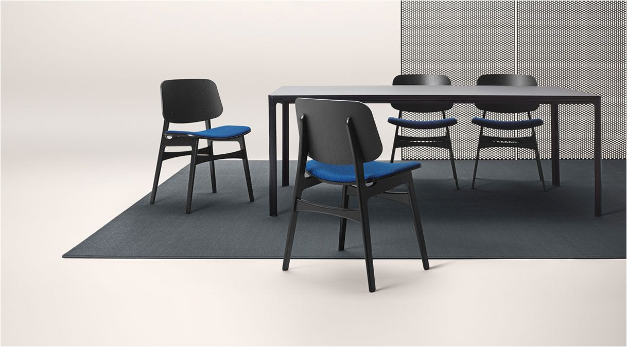 fredericia borge mogensen soborg table blue furniture furniture design dinning chairs chair