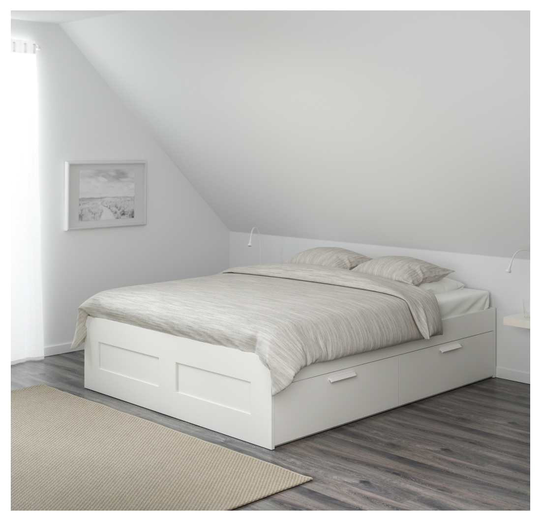Brimnes Bed Frame with Storage Headboard White Ikea Brimnes Bett 180×200 Und Schon Brimnes Bed Frame with Storage