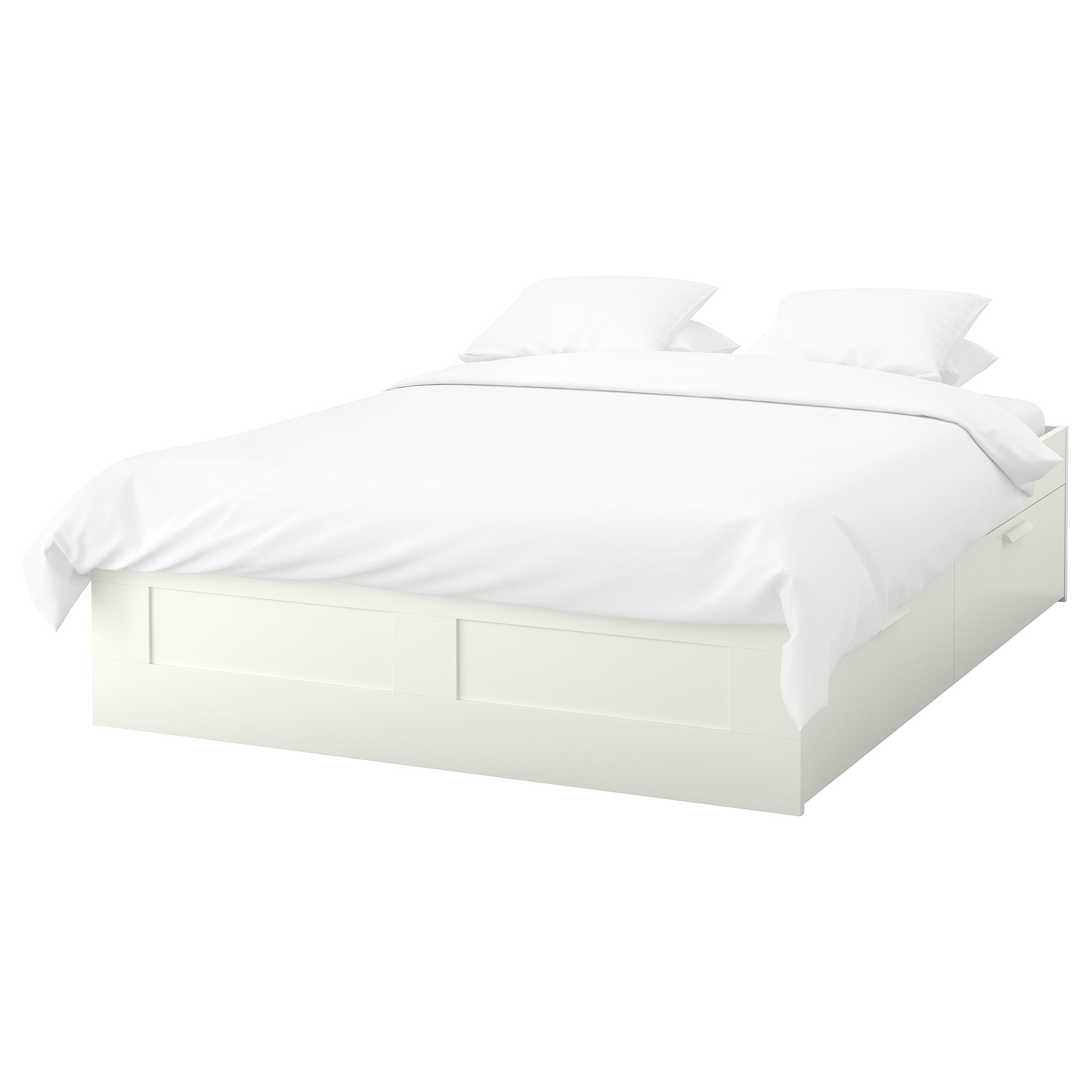 ikea malm super king size bed with 2 x 3ft 90cm matresses in avec
