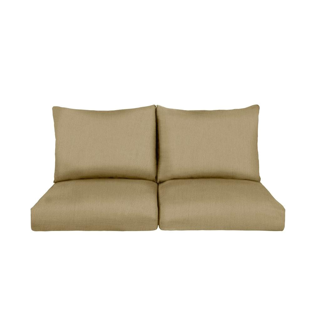 marquis replacement outdoor loveseat cushion in meadow