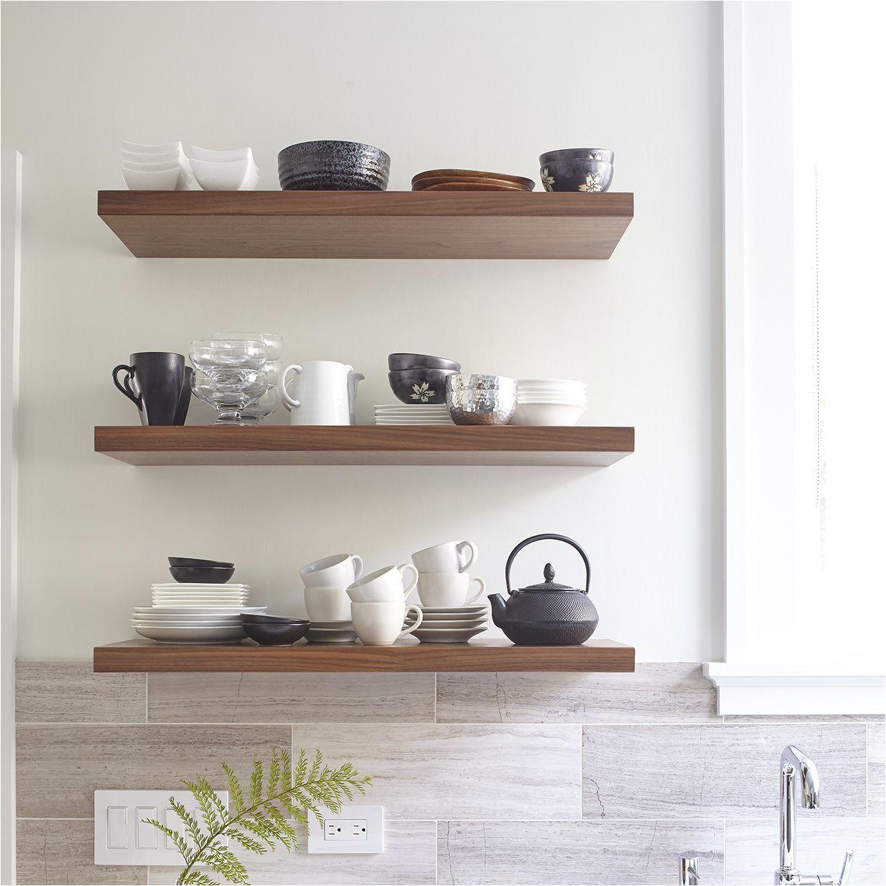 designer floating shelves for the kitchen floatingshelvesideasbuiltins