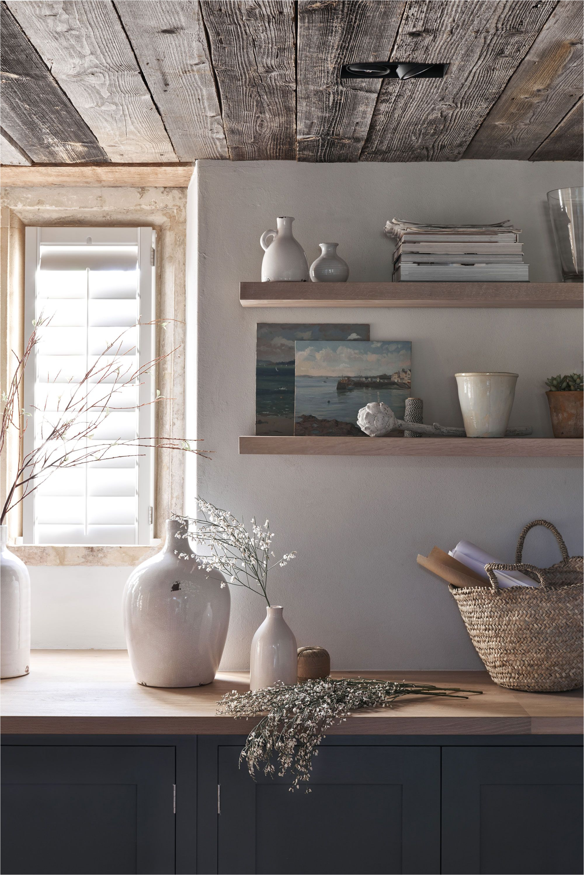 our buckland floating shelf simple design shakerstyle neptunehome