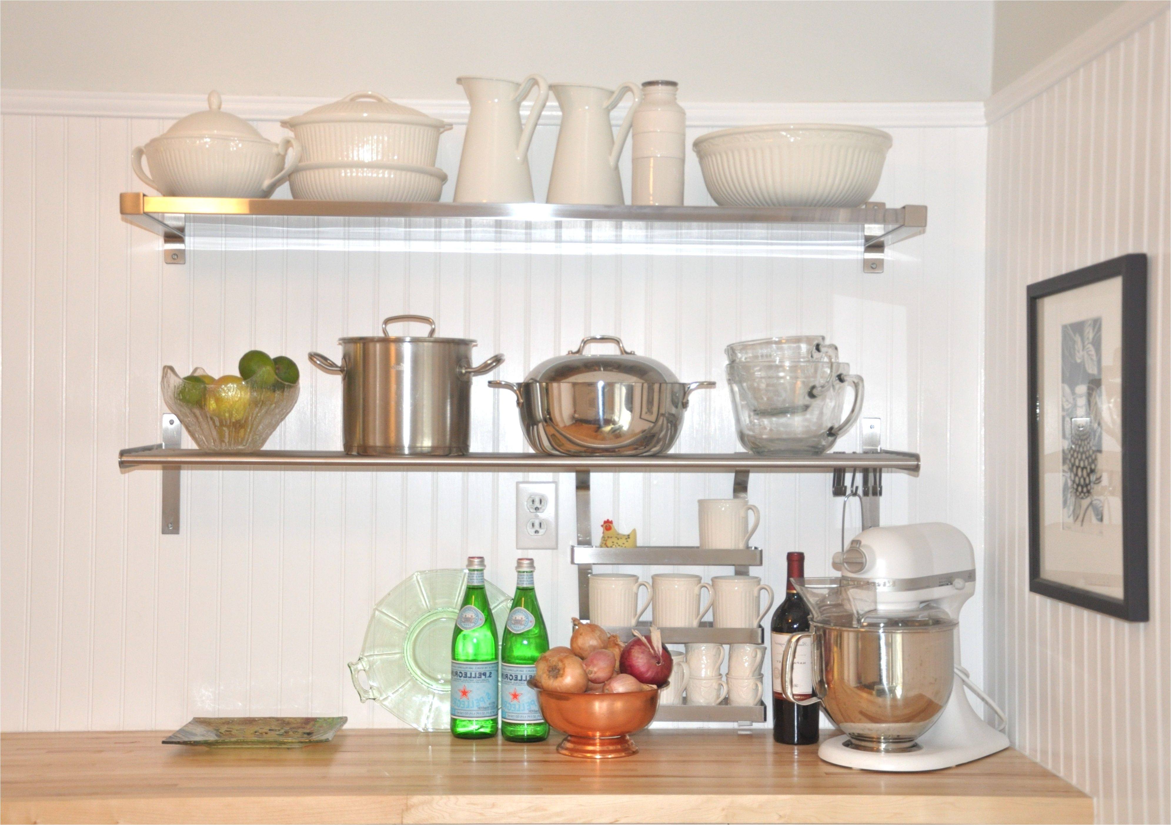wall decoration stainless steel floating shelves throughout wonderful kitchen stainless steel floating shelves kitchen dinnerware on lovely stainless