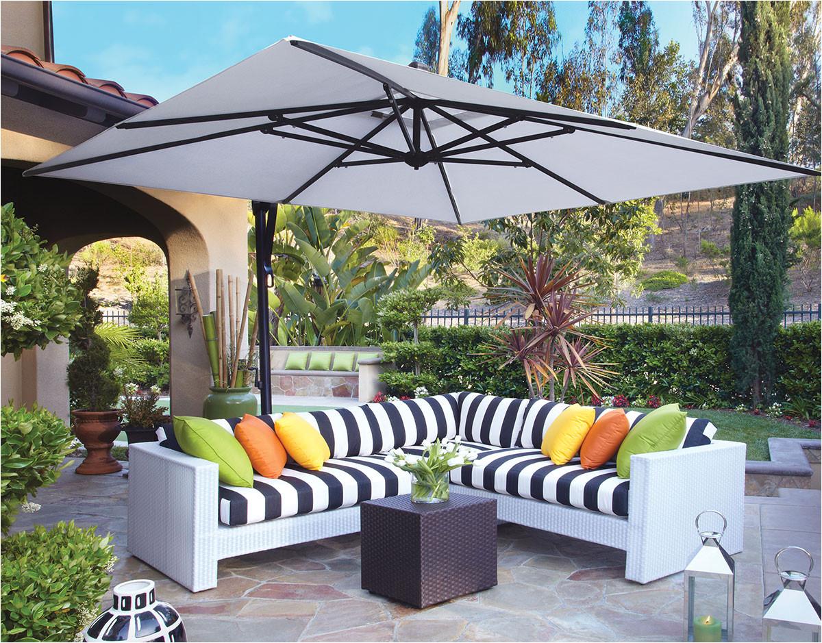 10 square cantilever umbrella akzsq10 swv treasure garden