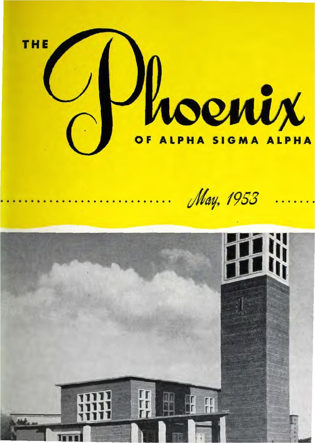 Captain Party Store Roanoke Va asa Phoenix May 1953 by Alpha Sigma Alpha sorority issuu