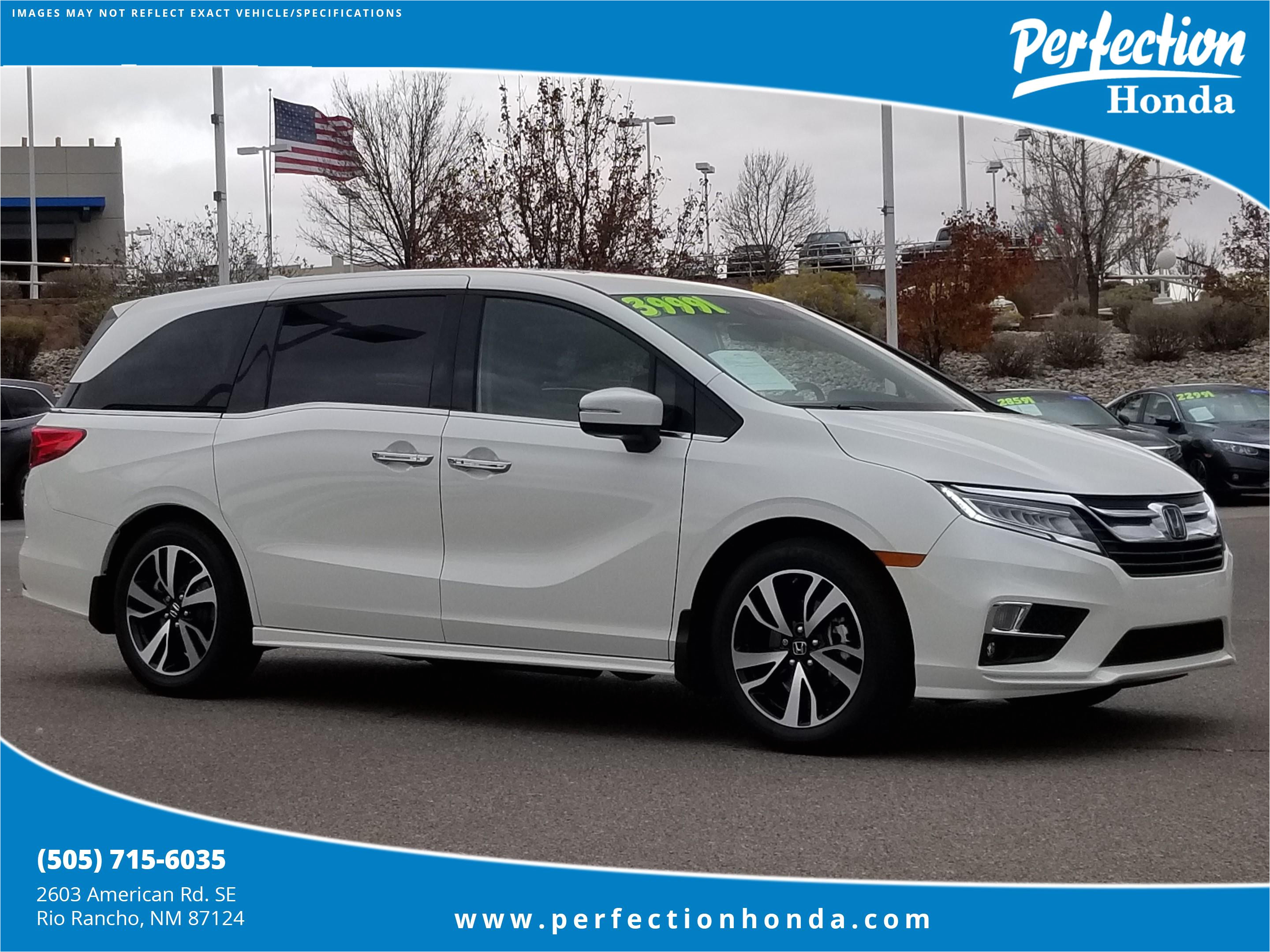 Carpet Cleaners In Rio Rancho Certified Pre Owned 2018 Honda Odyssey Elite Mini Van Passenger In