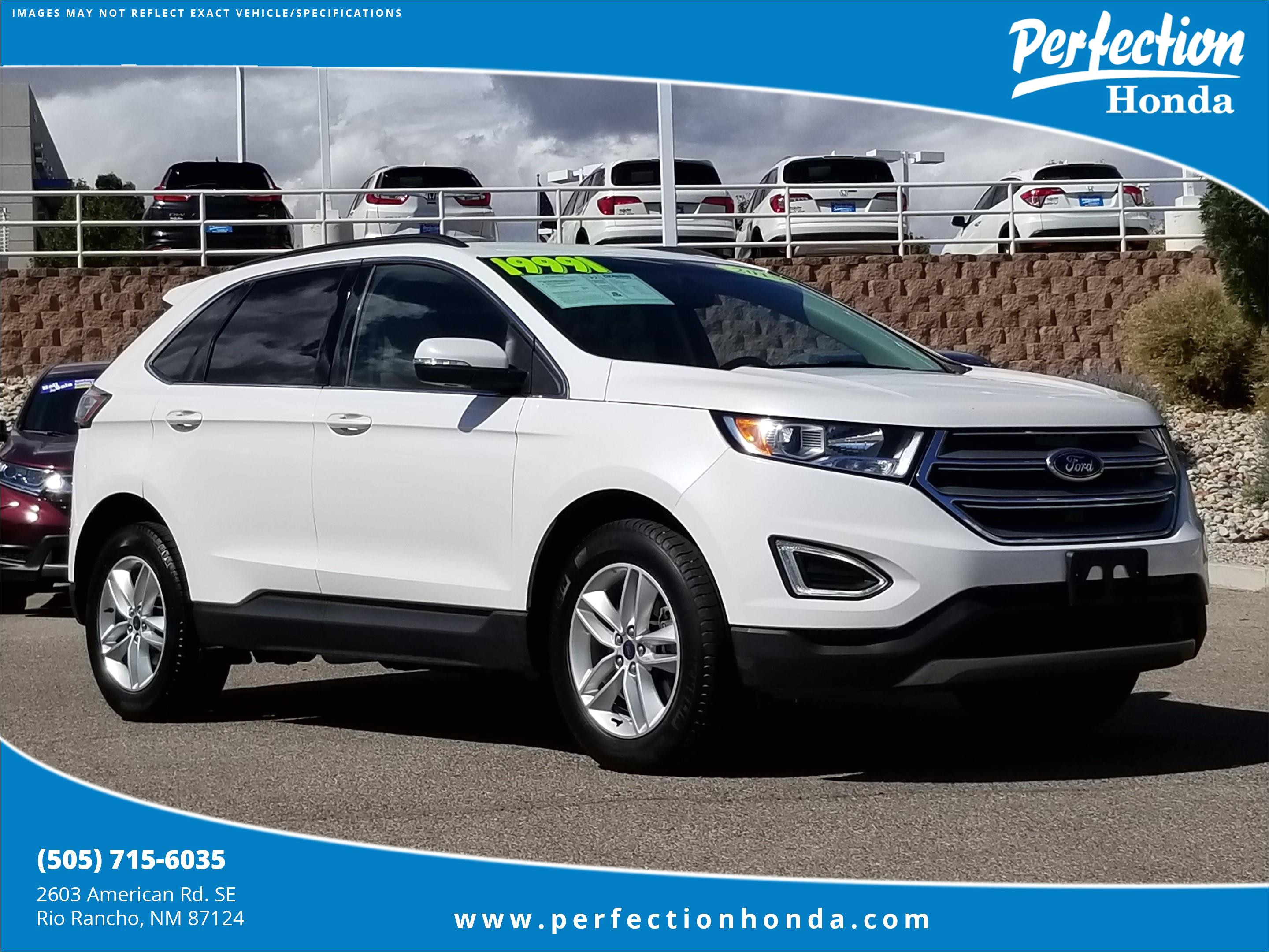 pre owned 2015 ford edge sel
