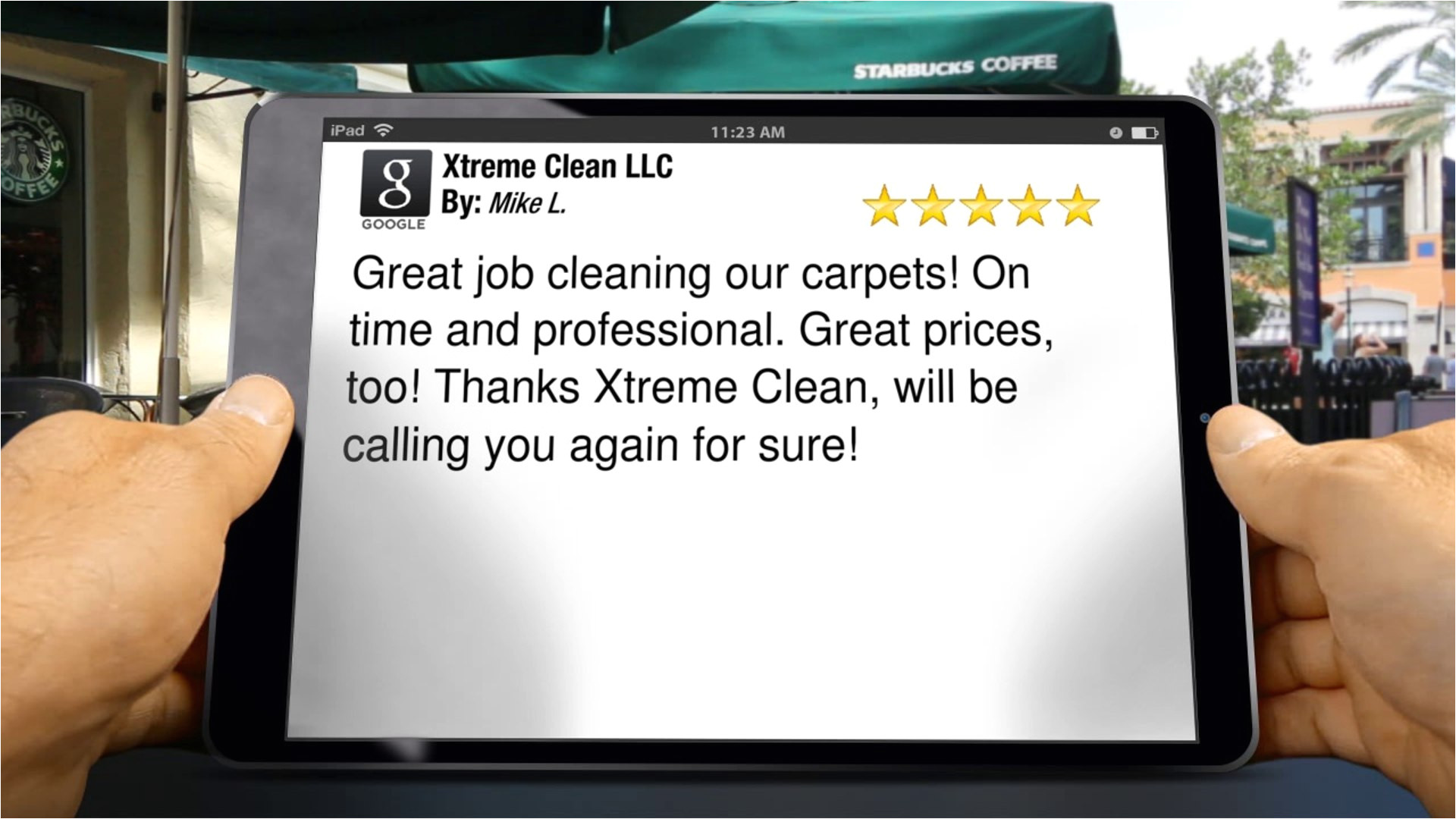 xtreme clean llc albuquerquecarpet cleaning companyreceivesimpressive 5 star review by mike l video dailymotion