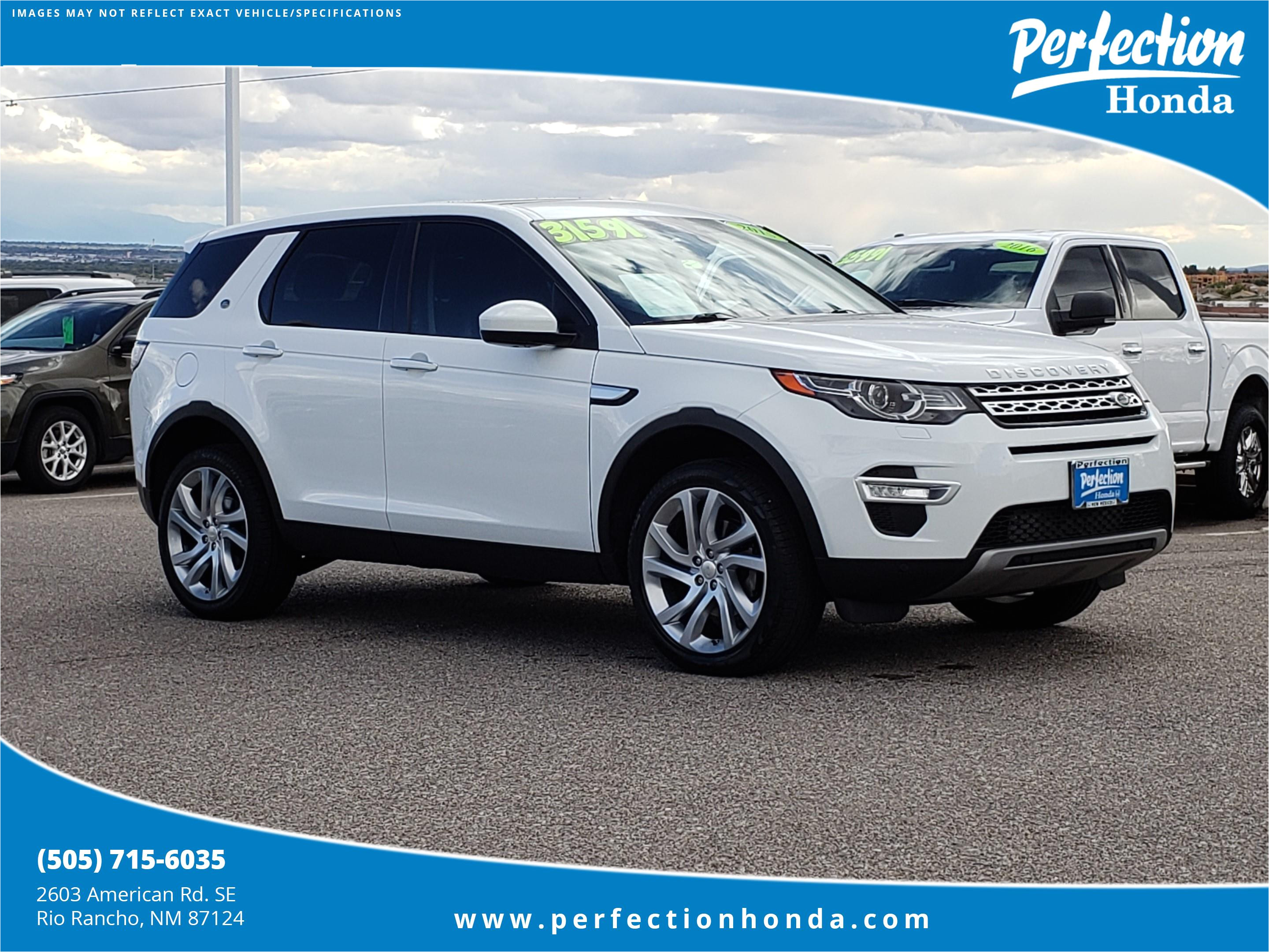 pre owned 2015 land rover discovery sport hse lux