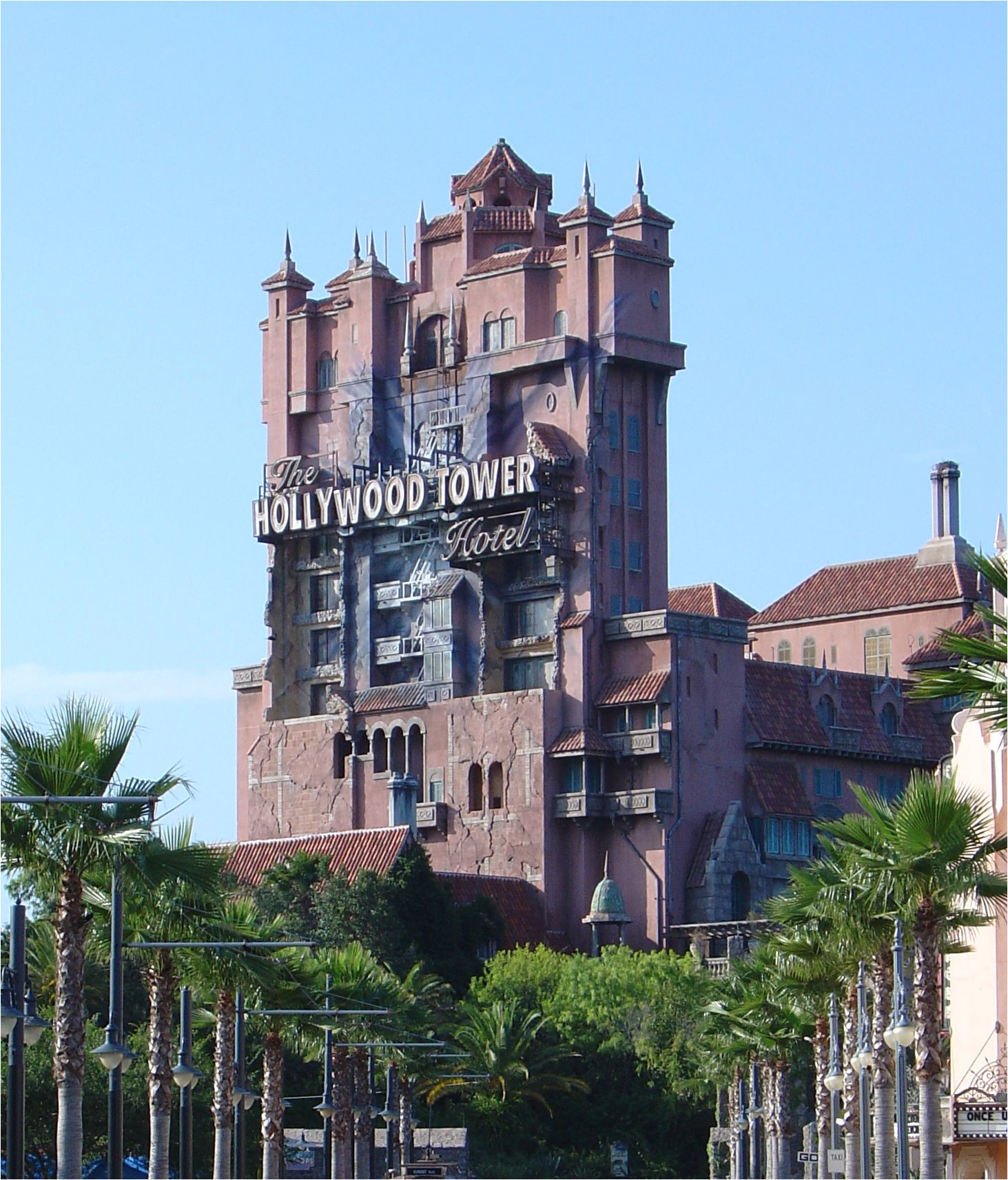 twilight zone tower of terror at disney mgm studios in orlando
