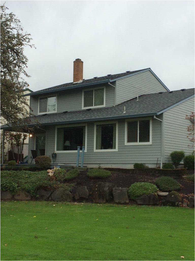 certainteed landmark granite grey roof installation by orion roofing and sheet metal in tigard oregon slopingroofing