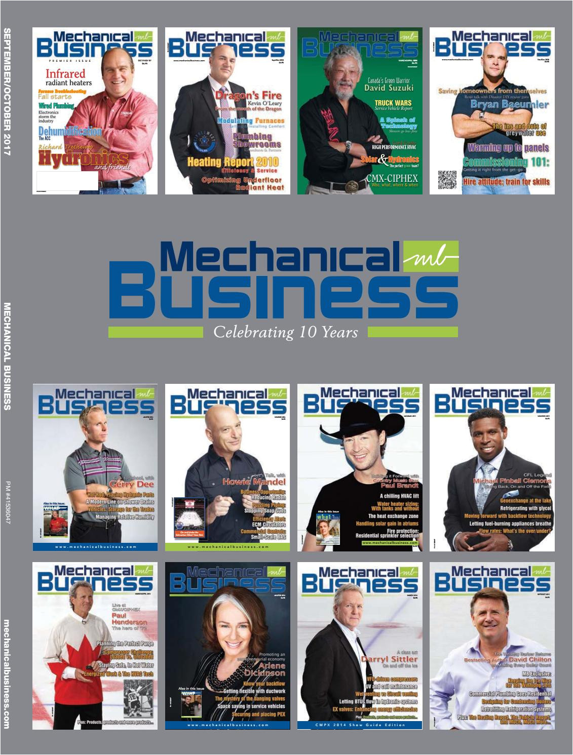 mechanical business september october 2017 by mechanical business issuu