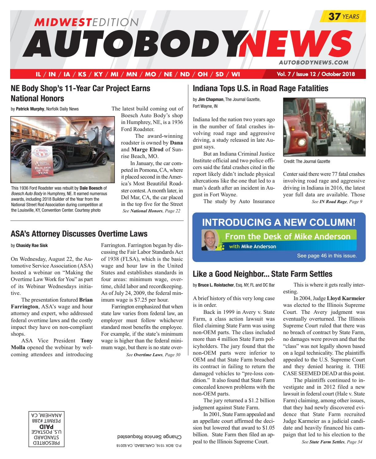 Chapman Heating and Cooling Louisville Ky October 2018 Midwest Edition by Autobody News issuu