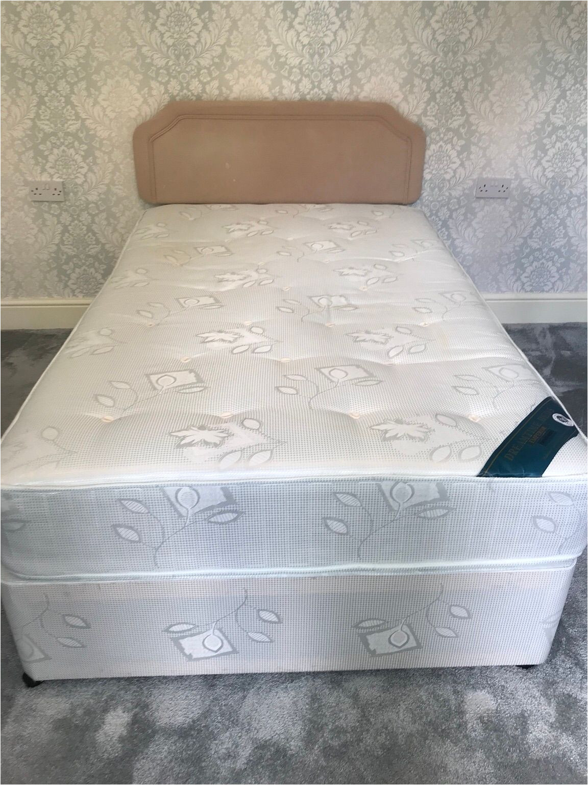 3 4 divan bed with headboard 3bfdd8d0 jpg