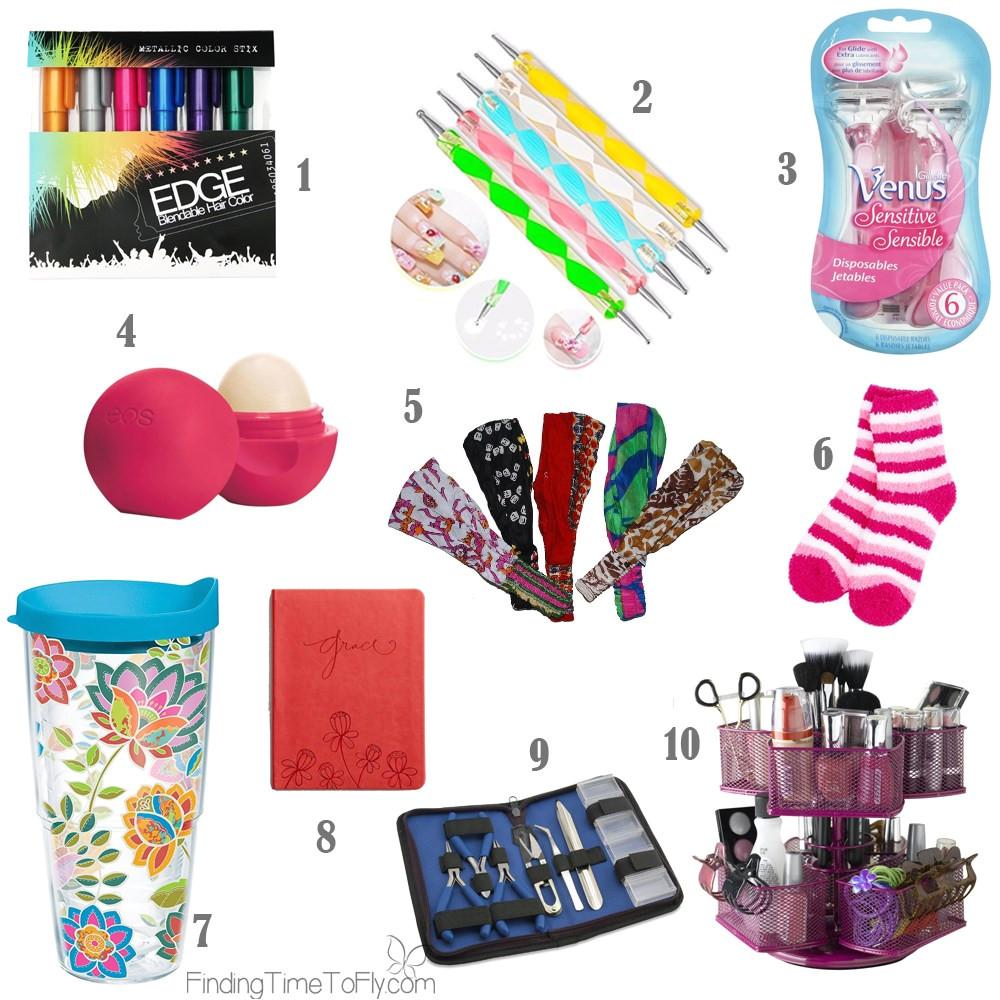 stocking stuffer ideas for teenager girls