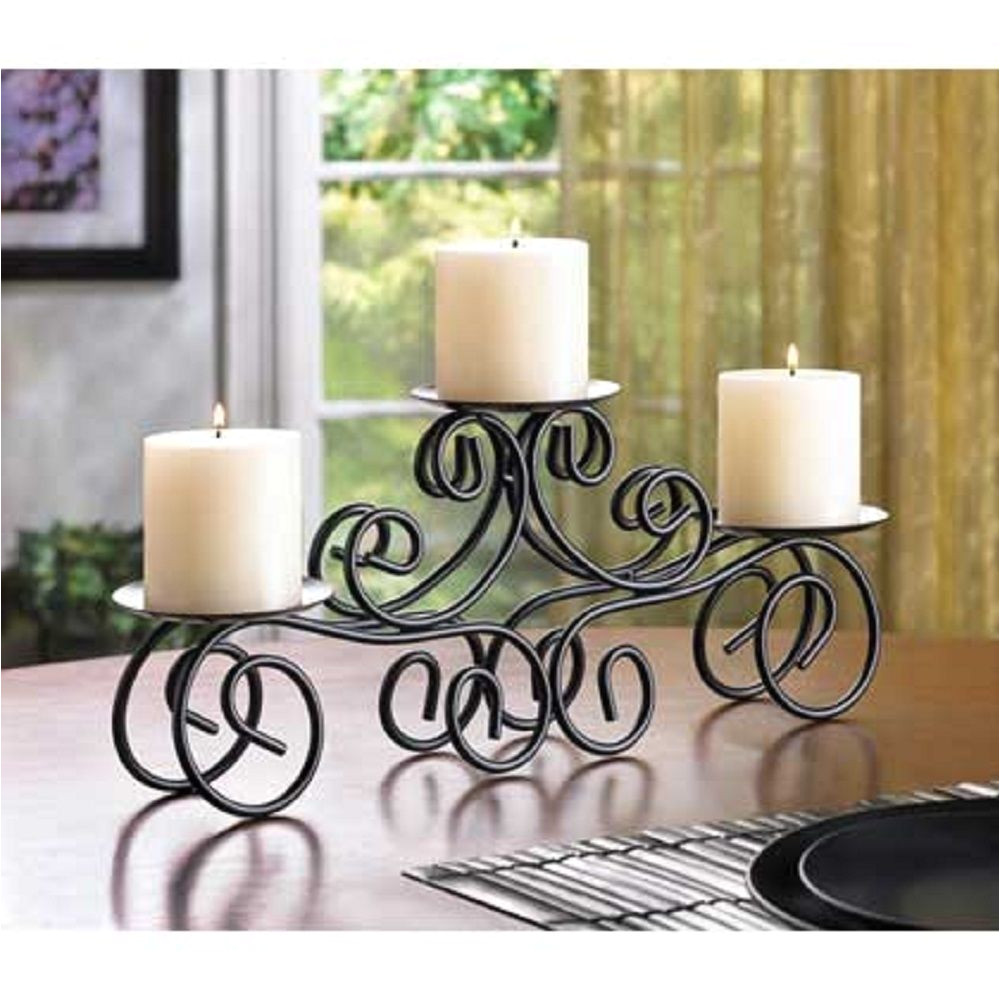 10 tuscan wrought iron scrollwork candle holder wedding centerpieces new 14198