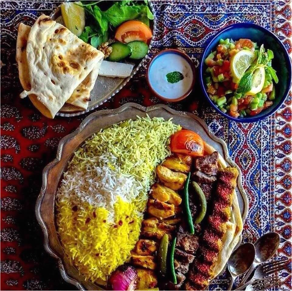 mouthwatering selections of iranian cuisine from internet sources photo 1