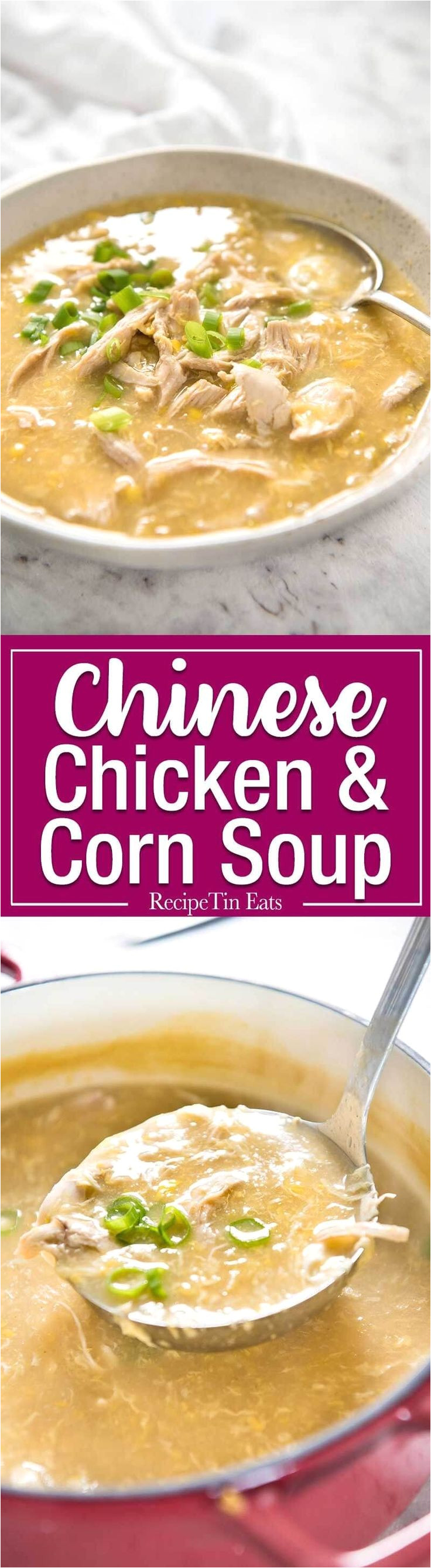 chinese chicken and corn soup