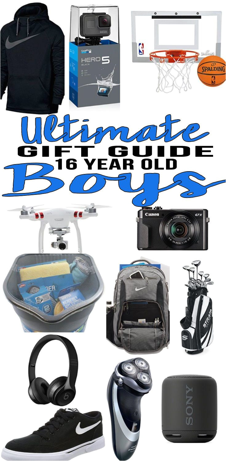 top gift ideas that 16 yr old boys will love find presents gift suggestions for a boys 16th birthday christmas or just because cool gifts for
