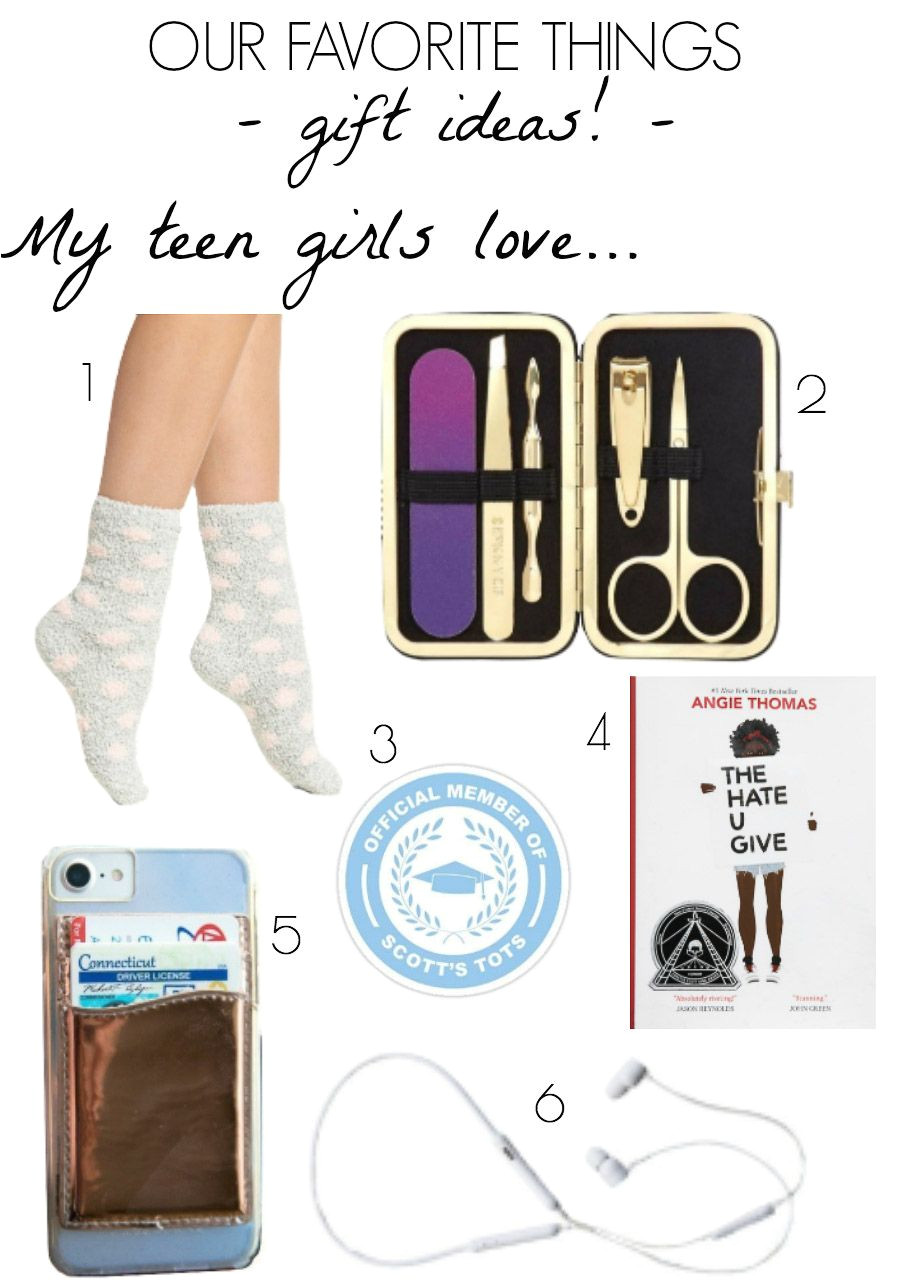 my teen girls favorite things that they have loves and would recommend for