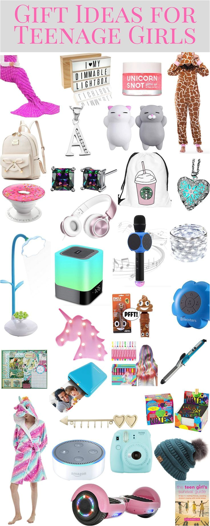 gift ideas for teenage girls and tween girls does your teen girl love unicorns or girly things or is she more into sports or art