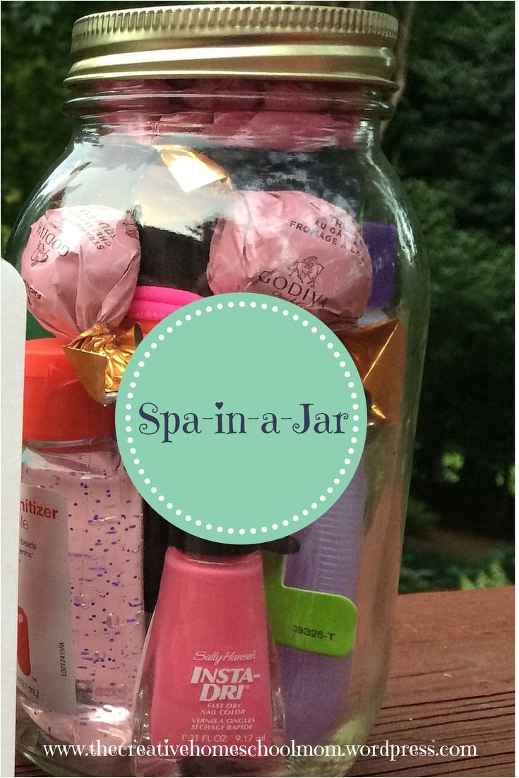 great gift for a teen girl spa in a jar the creative homeschool mom teen