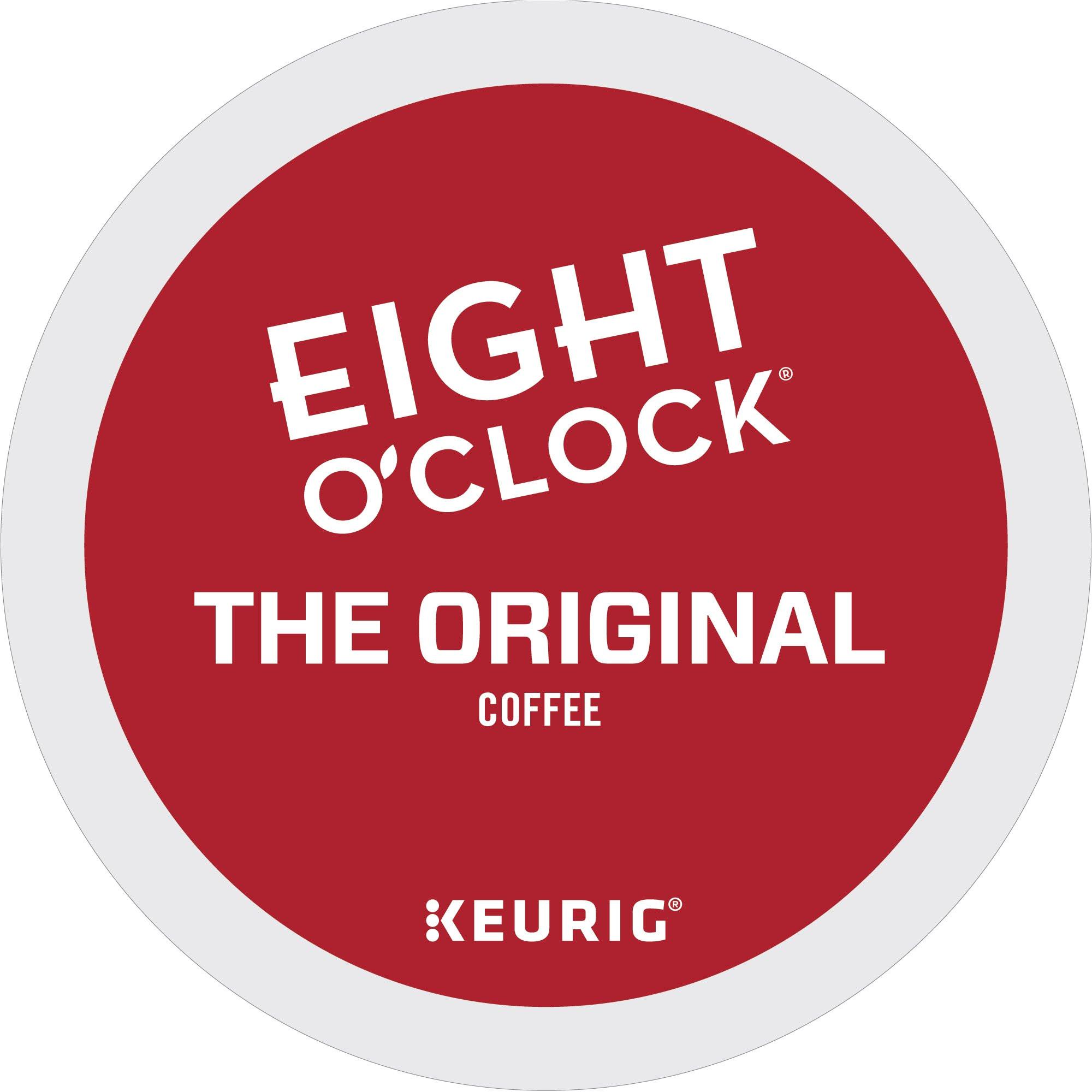 eight o clock coffee the original single serve coffee k cup pod