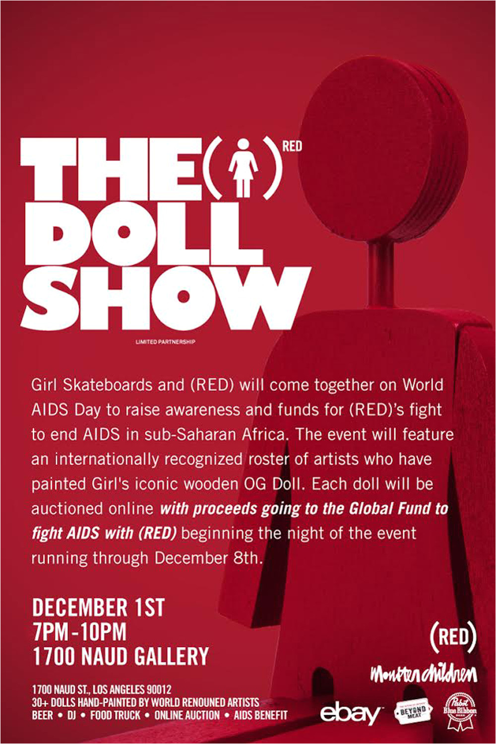 girl skateboards and red team up for world aids day with a stellar group show jpg