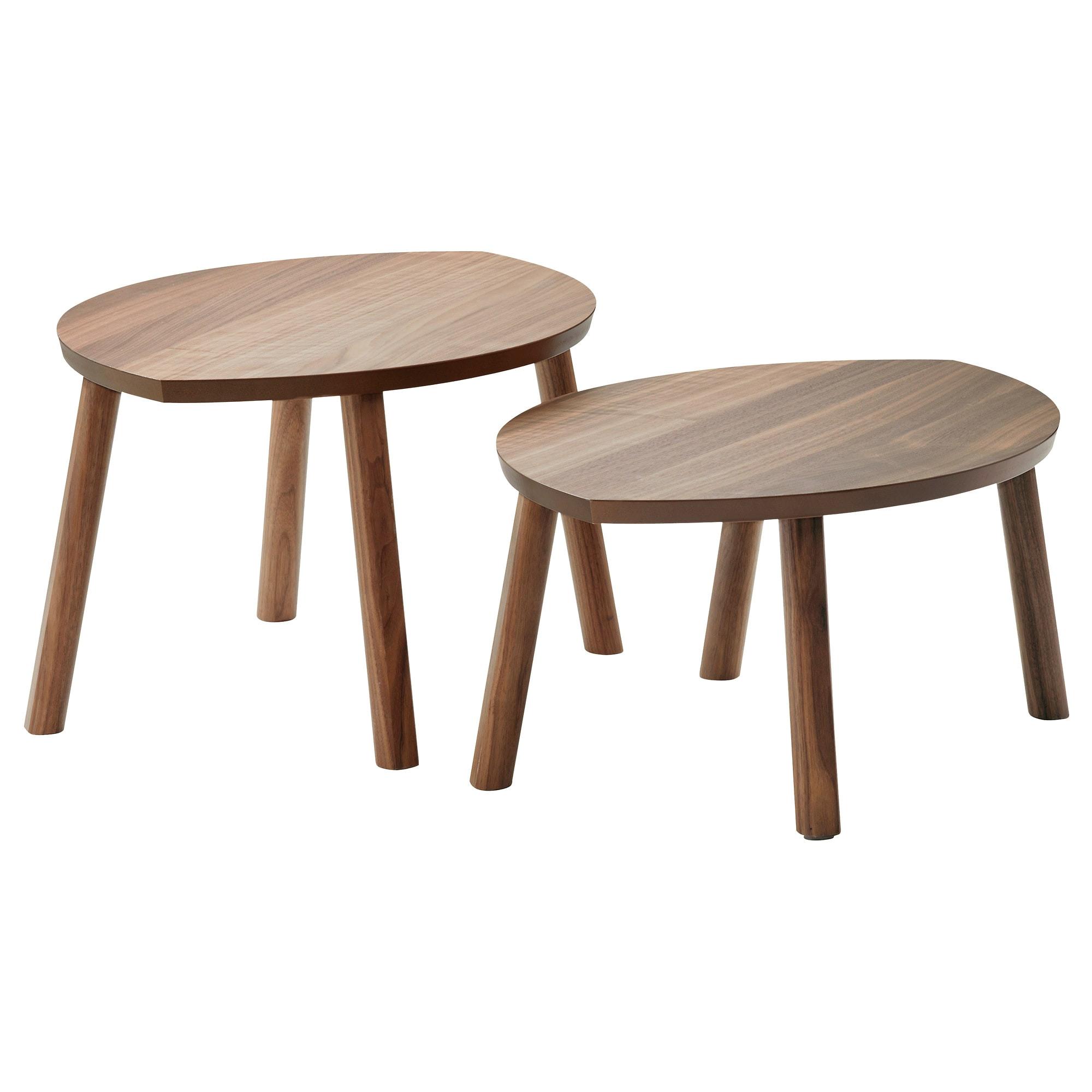 ikea stockholm nest of tables set of 2