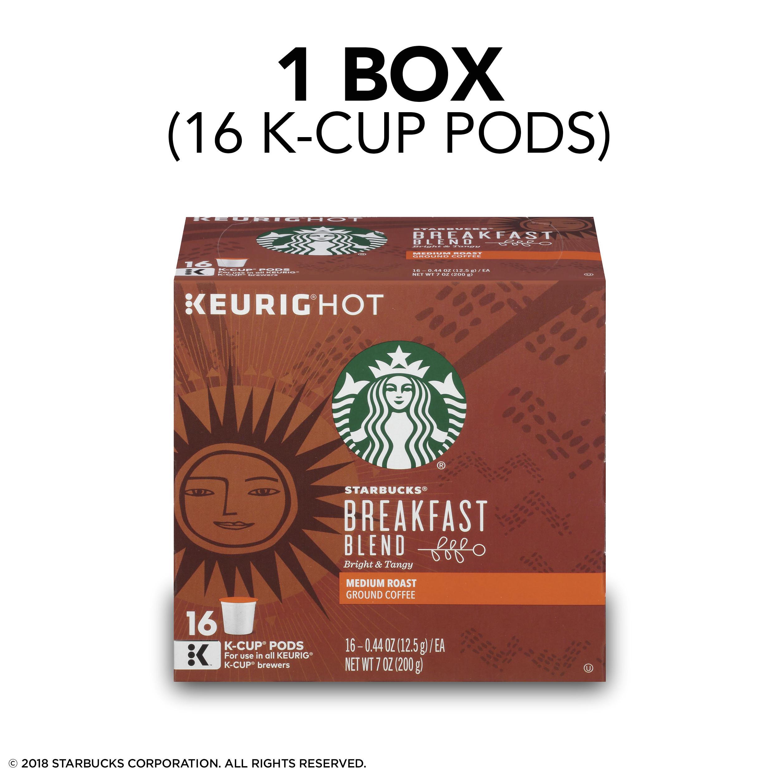 Coffee Prices at Circle K Starbucks Breakfast Blend Medium Roast Single Cup Coffee for Keurig