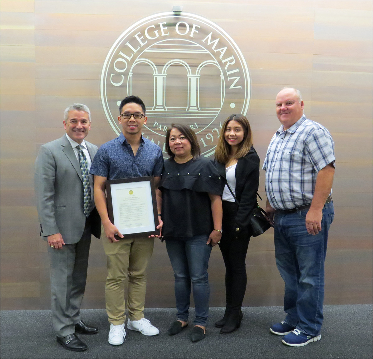 board commends nursing student mario monte for heroism during tubbs fire
