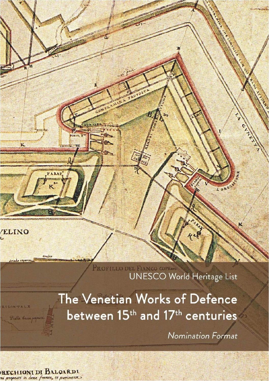 il dossier di candidatura unesco dei sistemi di difesa veneziani tra il xv e il xvii secolo by comune di bergamo issuu