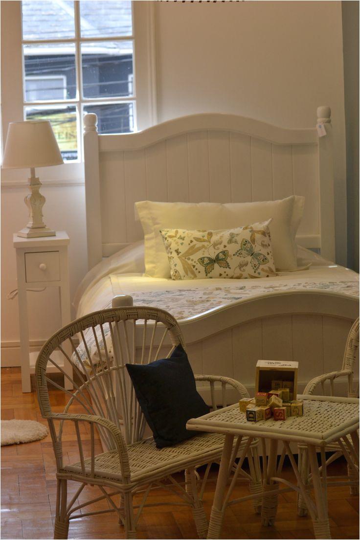 cama madera blanca nia a decoracia n infantil www elclankids cl