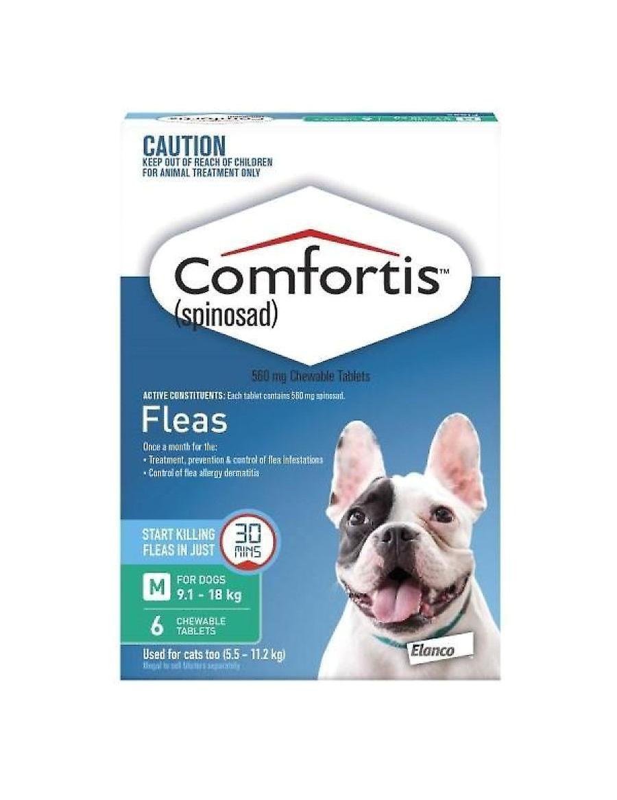 comfortis zielony dla psa w 9 1 18kg 20 40lbs