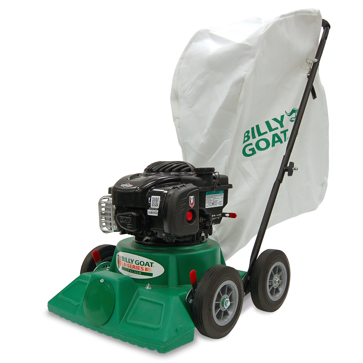 billygoat clean up your world debris vacuums force blowers overseeders aerators brush mowers