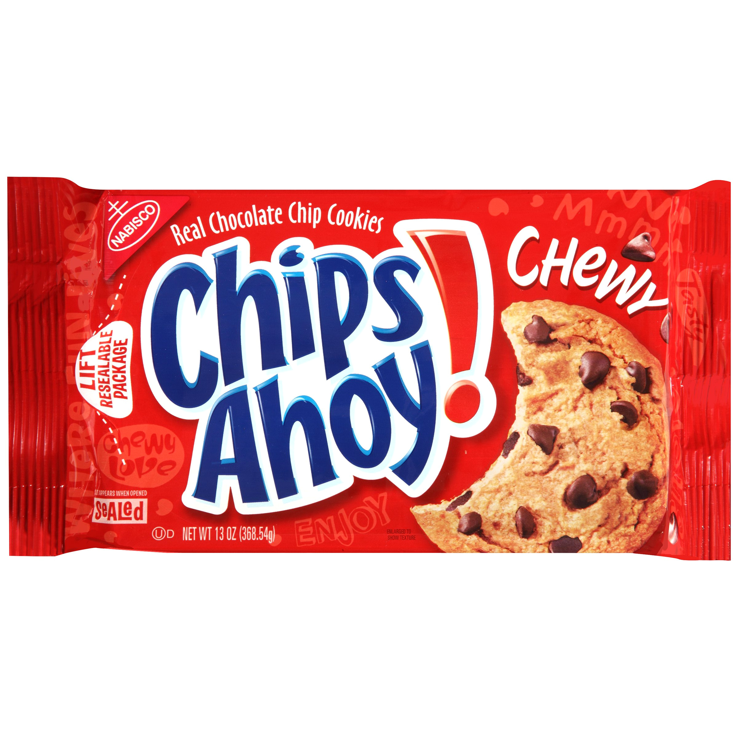 chewy chocolate chip cookies 13 ounce pack of 12 packaging may vary