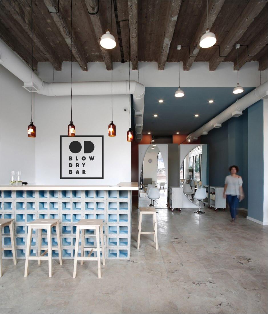 od blow dry bar by snkh architectural studio a c sona manukyan ani avagyan