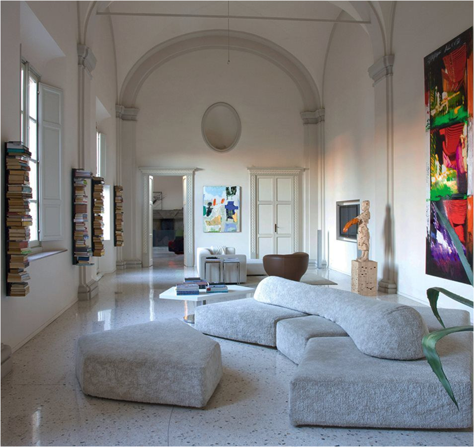 modular sofa contemporary fabric on the rocks by francesco binfare edra videos