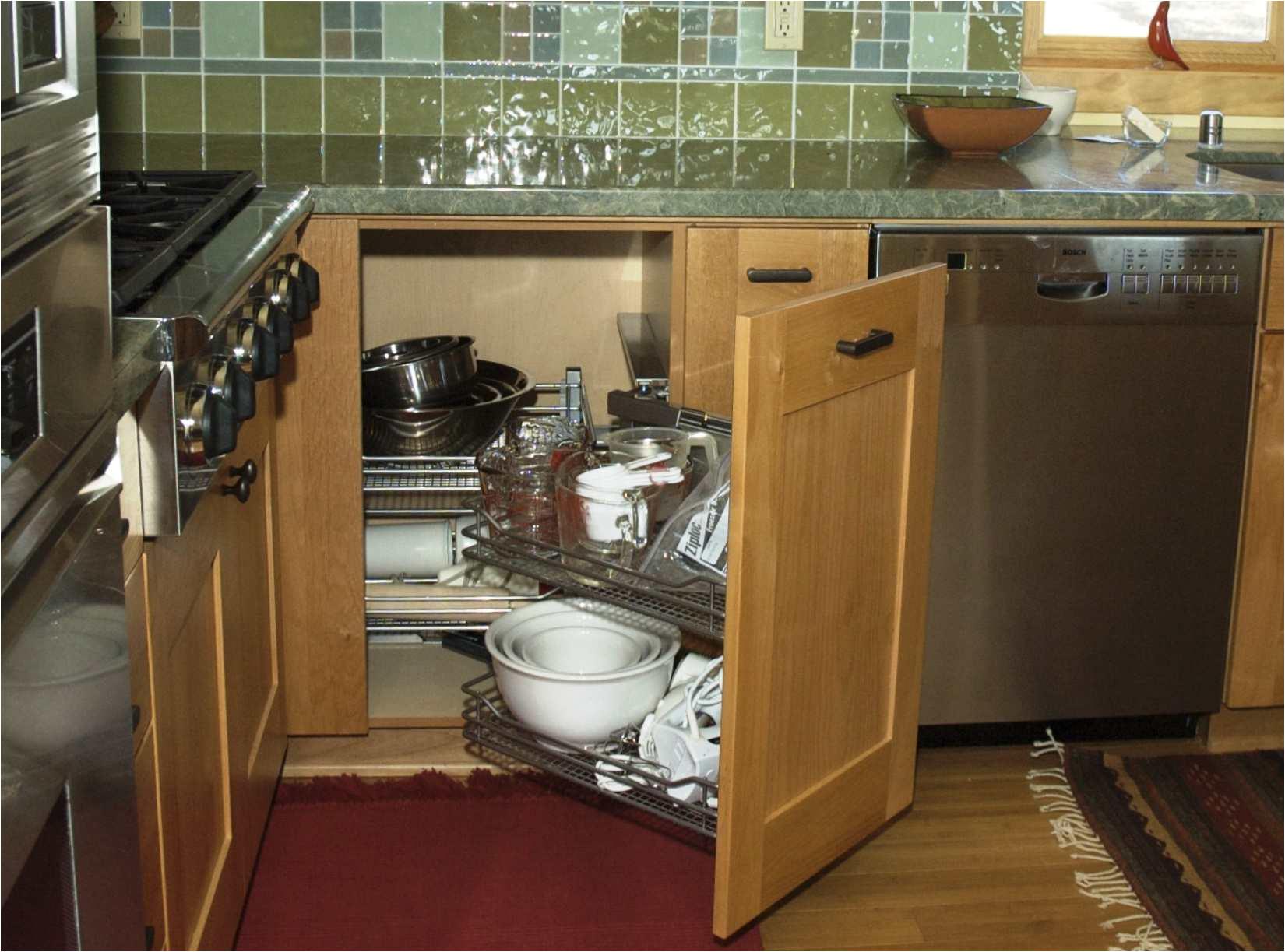 magic corner kitchen blind corner storage solution