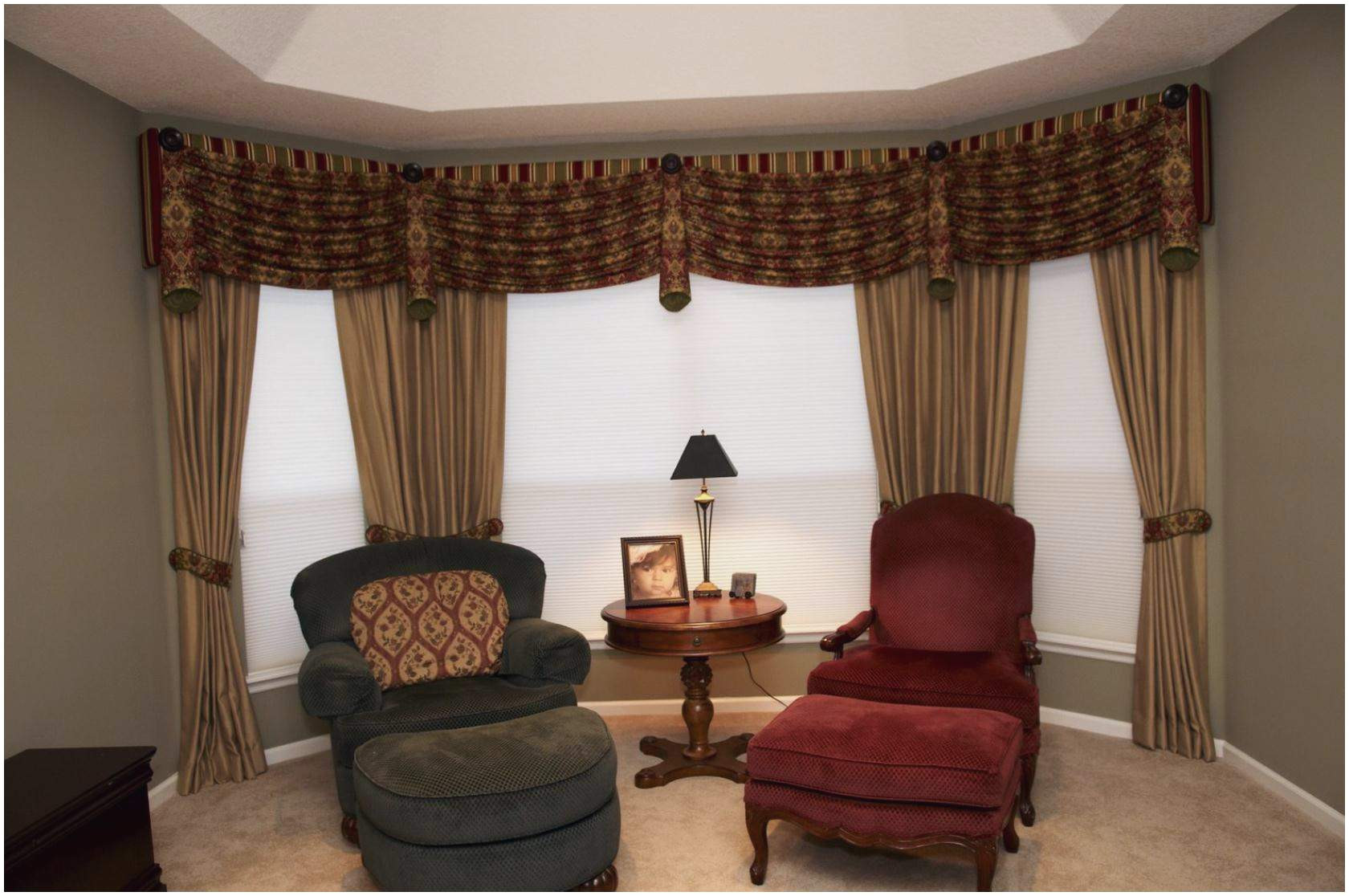 bay window curtains ideas lovely livingroom magnificent bay window curtain rod home depot seating