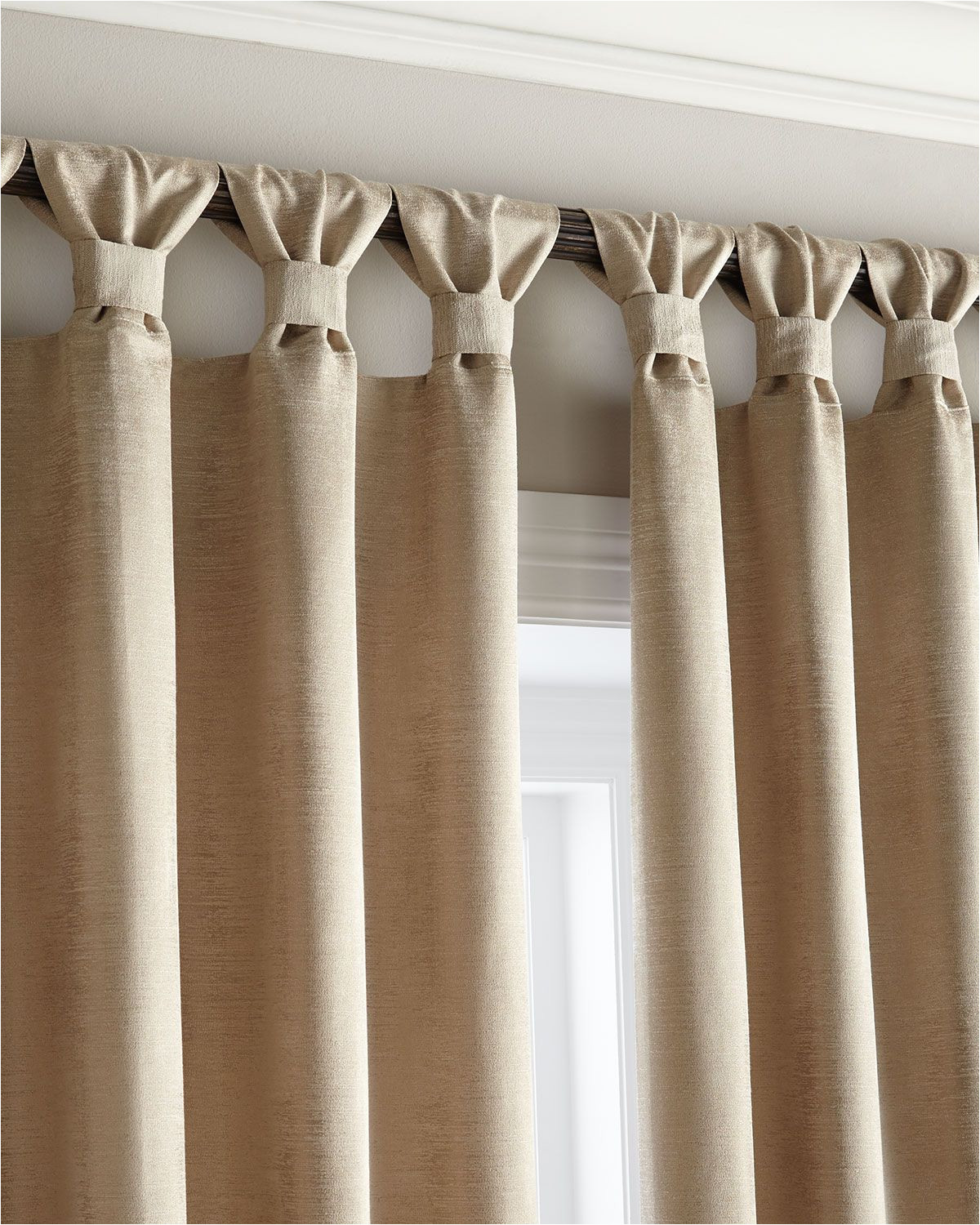 tab curtains a little different more
