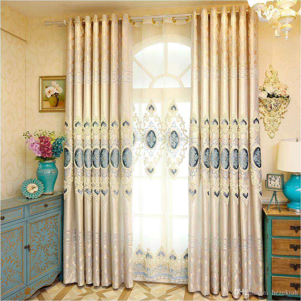 compre o quarto da sala de visitas das cortinas da tela da cortina da tela da cortina da tela do jacquard terminou de hezekiah 23 32 pt dhgate com