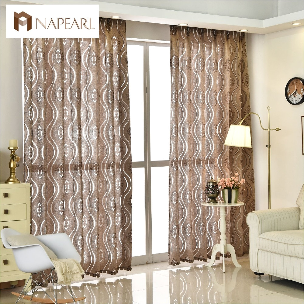 napearl cortina jacquard moderno casa decoraa a o sala de estar cortinas de tecido janela cortinas painel cortina ready made cortinas baratos em cortinas de