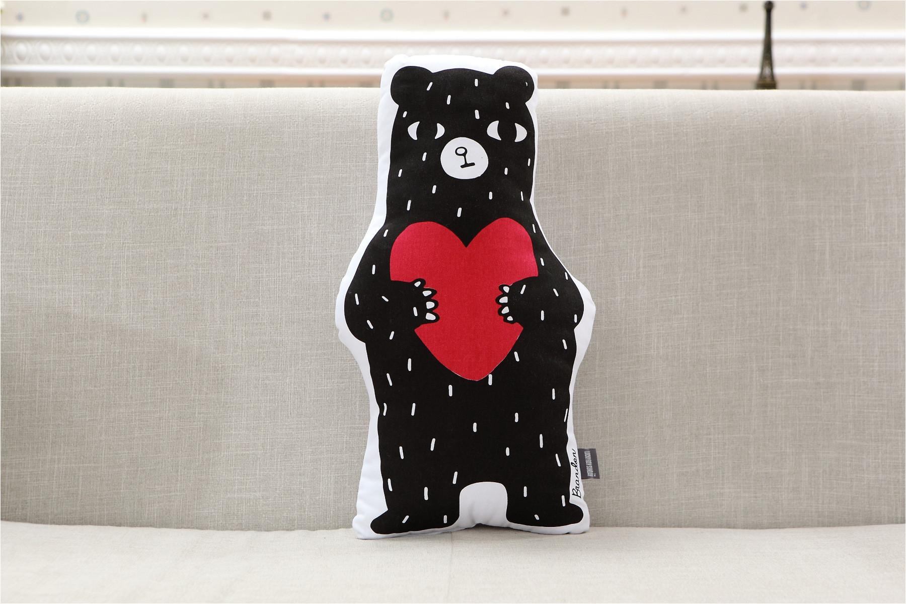 cute bear ins 50 25cm children kids bedroom toy dolls sofa car seat cushion baby photography prop baby sleeping calm doll us257