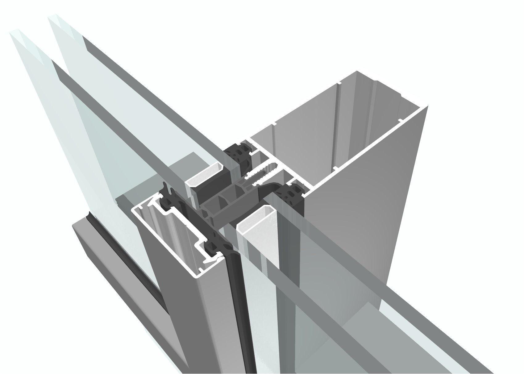 el bonito perfiles aluminio para ventanas con motivo de de aupa perfil de aluminio para muro cortina con montantes y travesac2b1os planificacion para