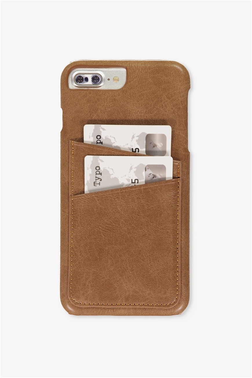 the cardholder phone cover 6 7 8 plus tan pu